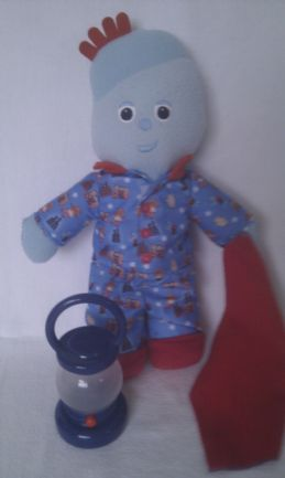 Adorable Bedtime 'Goodnight Igglepiggle' + Lantern In the Night Garden Plush Toy